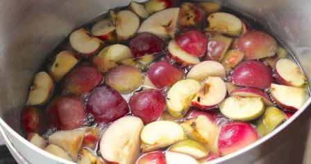 Брага из яблок без дрожжей