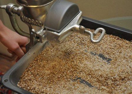 измельченное зерно для браги